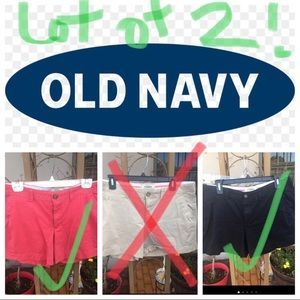 Lot of 2 Old Navy Shorts bundle
